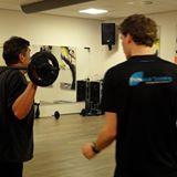 Personal Trainer Jaap Bos aan het werk.