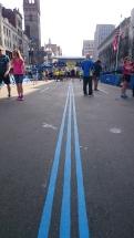 Op weg naar de finish